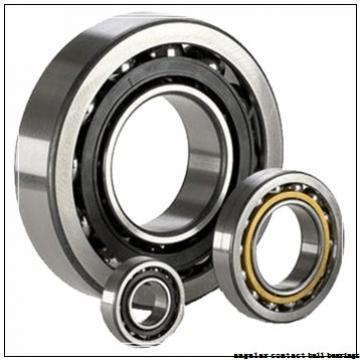 30 mm x 72 mm x 19 mm  NKE 7306-BECB-TVP angular contact ball bearings