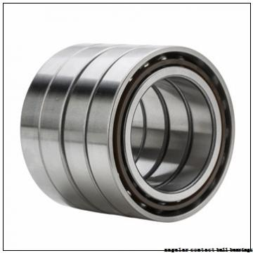 95 mm x 200 mm x 45 mm  NSK QJ319 angular contact ball bearings