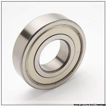 4 mm x 11 mm x 4 mm  NMB RF-1140 deep groove ball bearings