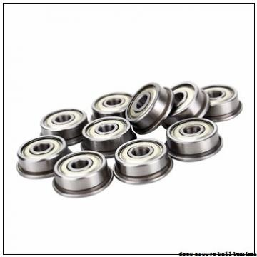 4 mm x 13 mm x 5 mm  ISB F624 deep groove ball bearings