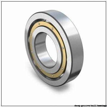 25 mm x 52 mm x 27 mm  KBC UB205 deep groove ball bearings