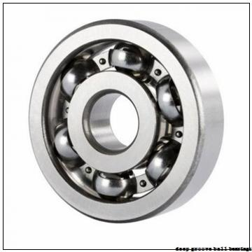 203,2 mm x 273,05 mm x 34,925 mm  RHP XLJ8 deep groove ball bearings