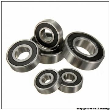 85 mm x 180 mm x 41 mm  KOYO M6317ZZX deep groove ball bearings